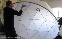 Bühnenobjekte: Lichtkuppeln für Fanta4