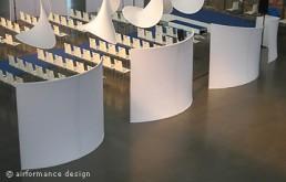 Event-Beispiel: Raum-im-Raum mit Schwungteilern