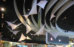 Messeobjekte: Segelschwarm auf IAA
