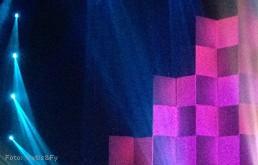 Bühnenobjekt: Knickwand für Adel Tawil