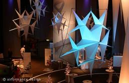 Event-Beispiel: Kristalle als Eislandschaft