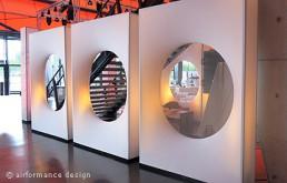 Bodenobjekt: Lochkubix-Raumteiler