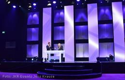 Bühnenbild-Beispiel: Pixel bei Preisverleihung