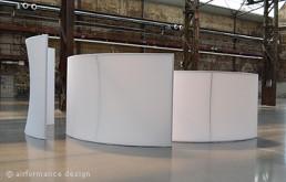 Bodenobjekt Schwungteiler (Raumteiler)