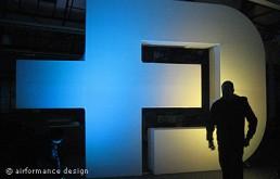 Bühnenobjekt: 3D-Logo für
