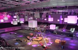 Event-Beispiel: Luftraumgestaltung mit Würfeln - großes Set