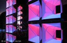 Zellsystem - Ein filigranes und kreatives Wand-System
